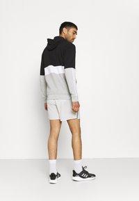 adidas Performance - COLORBLOCK FULL ZIP ESSENTIALS - Zip-up sweatshirt - black/white - 2
