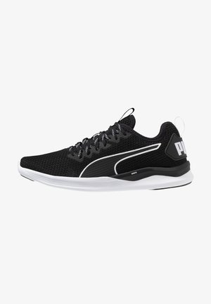 IGNITE FLASH - Neutral running shoes - black/white
