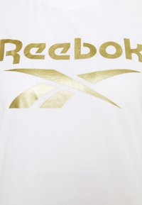 Reebok - REEBOK IDENTITY LOGO T-SHIRT - T-shirt z nadrukiem - white - 2