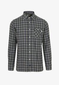 Scalpers - TARTAN POCKET - Shirt - light khaki - 3