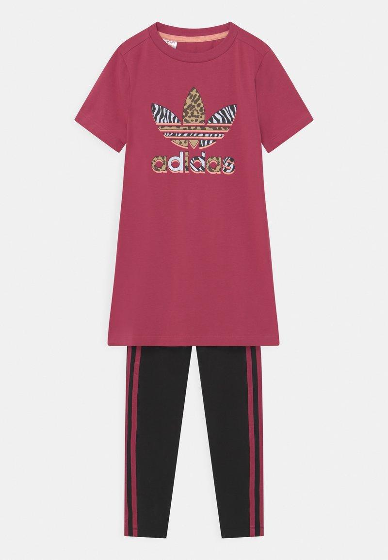 adidas Originals - SET - Legging - wild pink/black