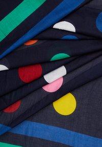 Benetton - Šátek - black/multi-coloured - 2