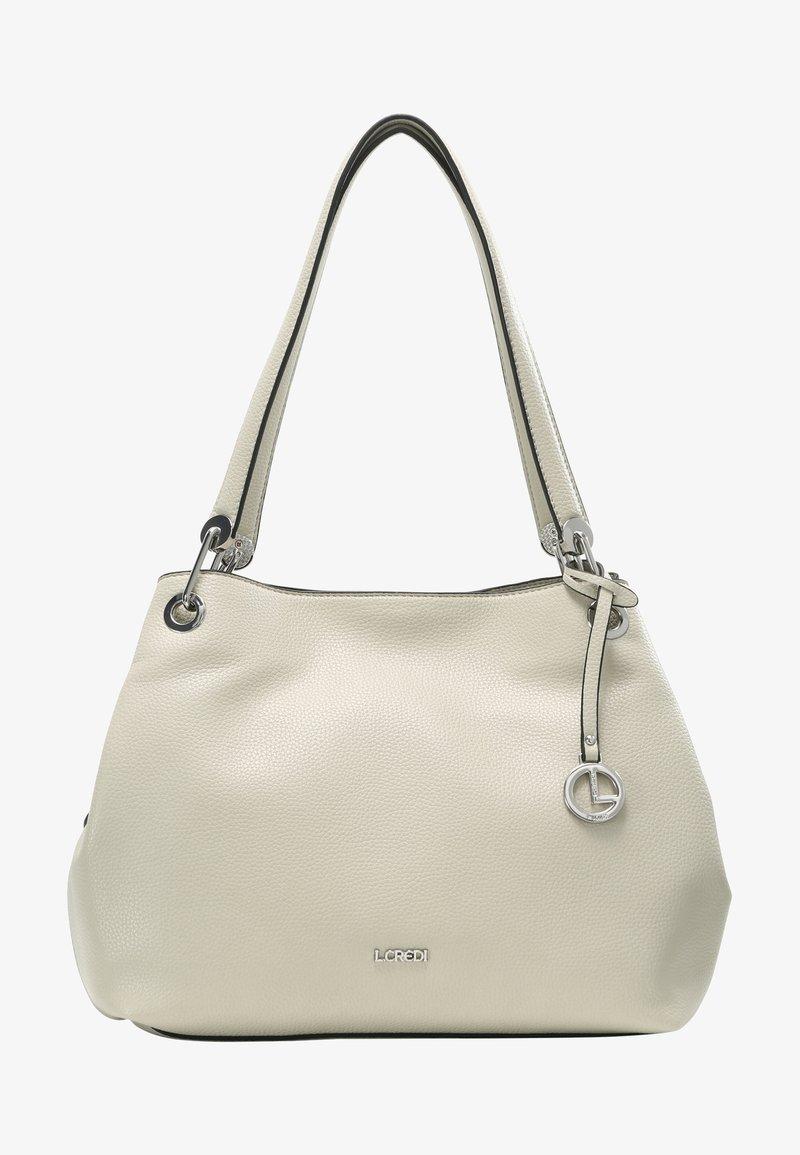 L. CREDI - SHOPPER EBONY - Handbag - stone