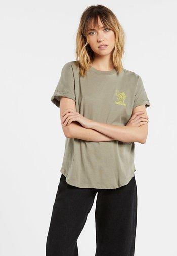 BREAKNOT SS - Print T-shirt - green_tea