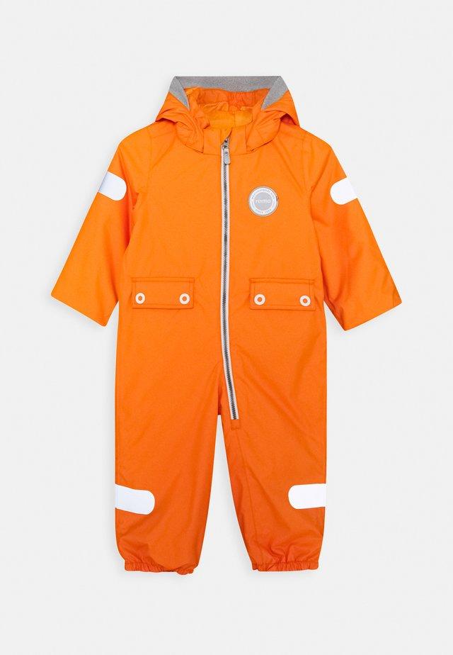 REIMATEC OVERALL MARTE MID UNISEX - Talvihaalari - orange