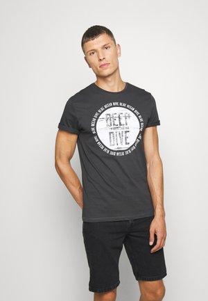 Print T-shirt - phanton dark grey