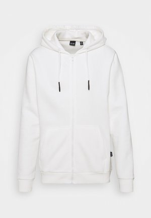 ONSCERES LIFE ZIP HOODIE - Zip-up sweatshirt - bright white