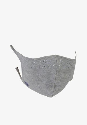 ELEGANCE - Maschera in tessuto - hellgrau