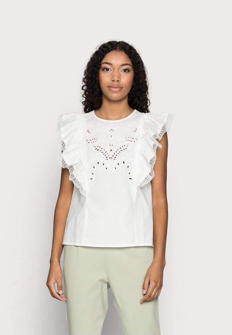VILA PETITE - VICASANDRA - Print T-shirt - snow white