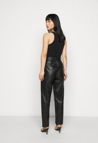 ONLY Petite - ONQNANNY - Trousers - black - 2