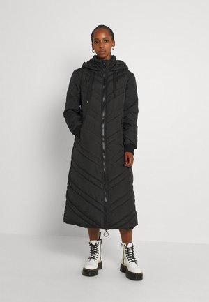 JDYSKY LONG PADDED HOOD JACKET - Winter coat - black