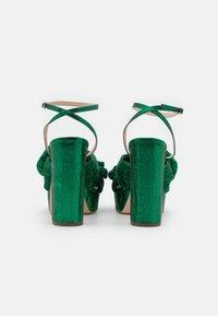 Loeffler Randall - NATALIA - Sandály na vysokém podpatku - emerald - 3