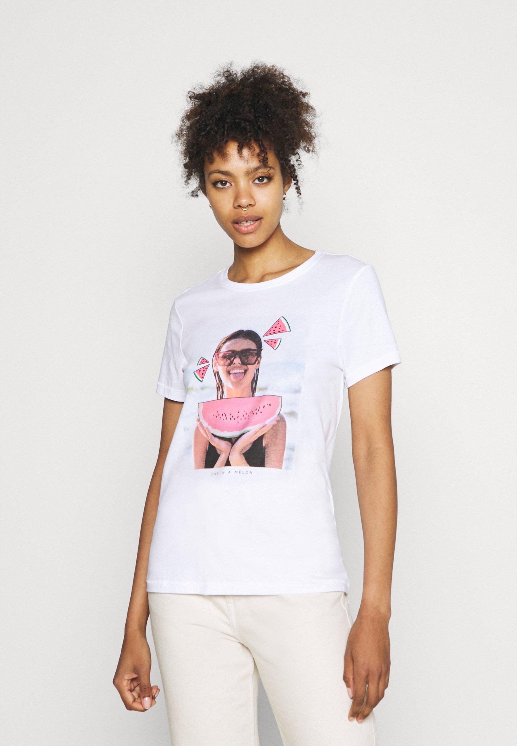 Women ONLLANA LIFE PHOTO BOX - Print T-shirt
