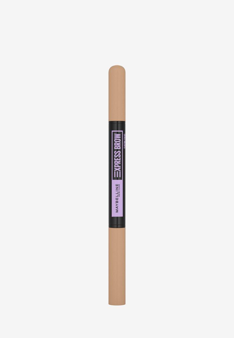 Maybelline New York - EXPRESS BROW SATIN DUO - Eyebrow pencil - 0 light blond