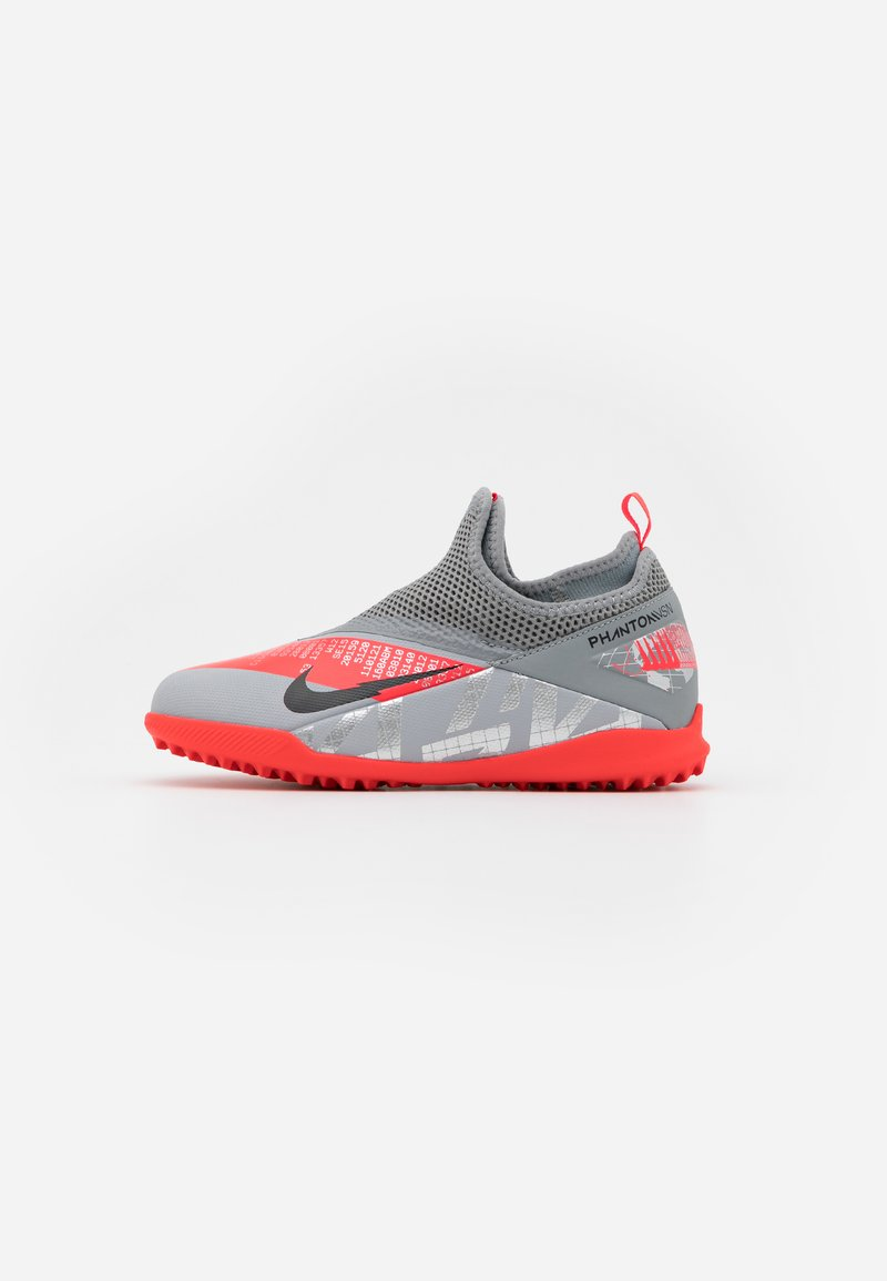 Nike Performance - PHANTOM VISION 2 ACADEMY TF - Astro turf trainers - metallic bomber grey/black/particle grey