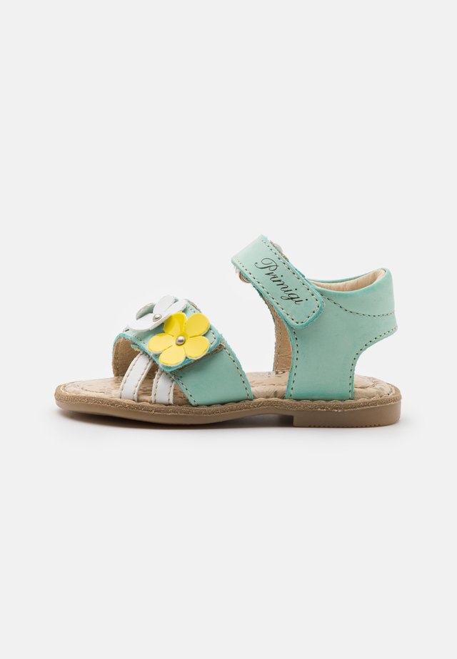 Sandales - acquamarina