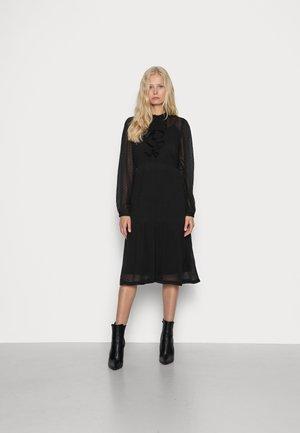 CRLIBASA DRESS - Paitamekko - pitch black