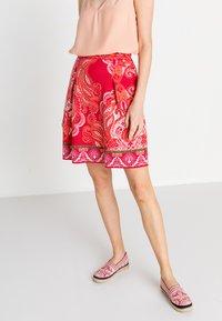 Ivko - Áčková sukně - red - 3
