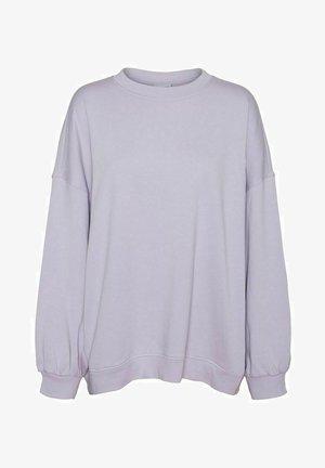 OVERSIZE - Sweatshirt - pastel lilac