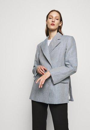 CHARLOTTE - Halflange jas - denim blue