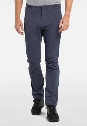 Trousers - dense blue