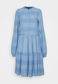 YAS Tall - YASLAMALI SHIRT DRESS - Day dress - silver lake blue - 0