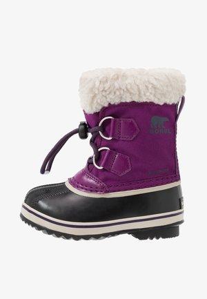 YOOT PAC - Snowboots  - wild iris/dark plum