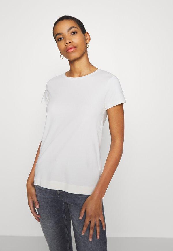 Soft Rebels ELLE - T-shirt basic - snow white Kolor jednolity Odzież Damska UEGS KV 7