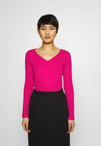 Tommy Hilfiger - REGULAR CLASSIC - Long sleeved top - bright jewel - 0