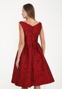 Madam-T - DANAY - Cocktail dress / Party dress - schwarz, rot - 2