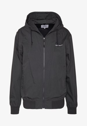 MARSH - Summer jacket - black/white