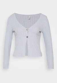 Nly by Nelly - BUTTON DOWN CARDIGAN - Cardigan - light blue - 5