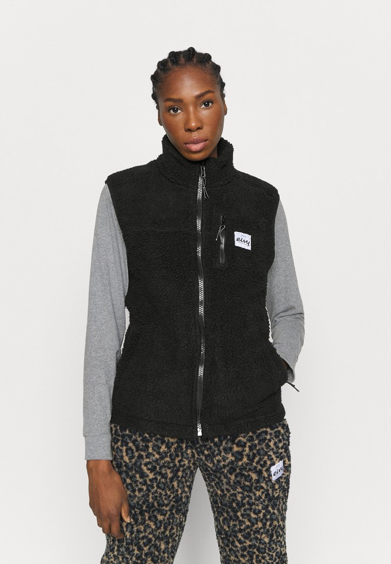 Eivy - LUMBER - Waistcoat - black
