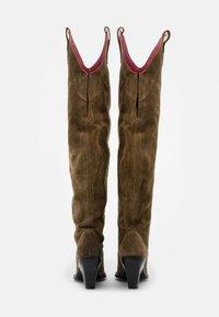 Bronx - NEW KOLE - High heeled boots - moss - 3