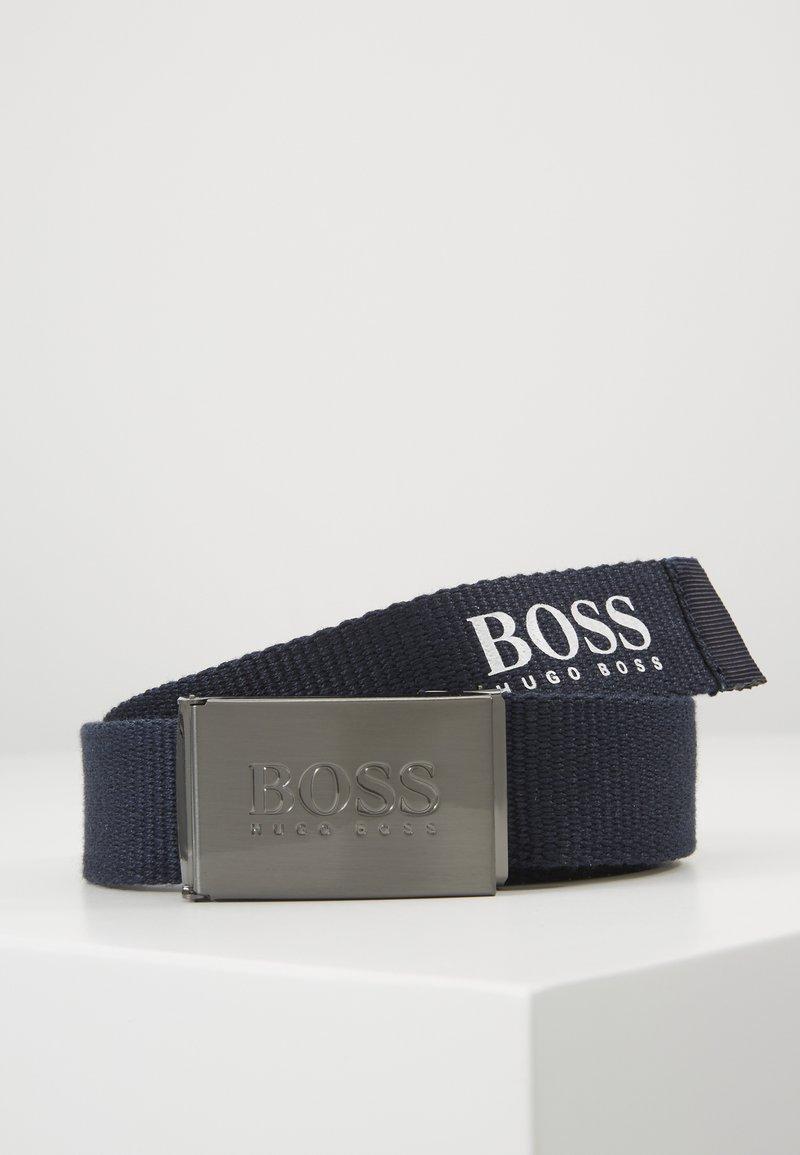 BOSS Kidswear - BELT - Pásek - navy