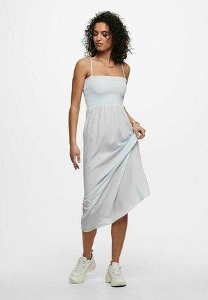 BEDRUCKTES - Maxi dress - chambray blue