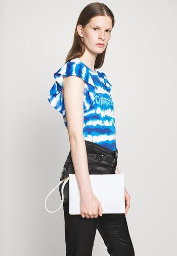 TRANSPARENT LOGO SHOPPER SET - Shopping bag - pink