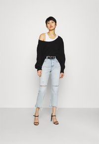 Replay - ROSE COLLECTION MAIJKE PANTS - Straight leg jeans - light blue - 1