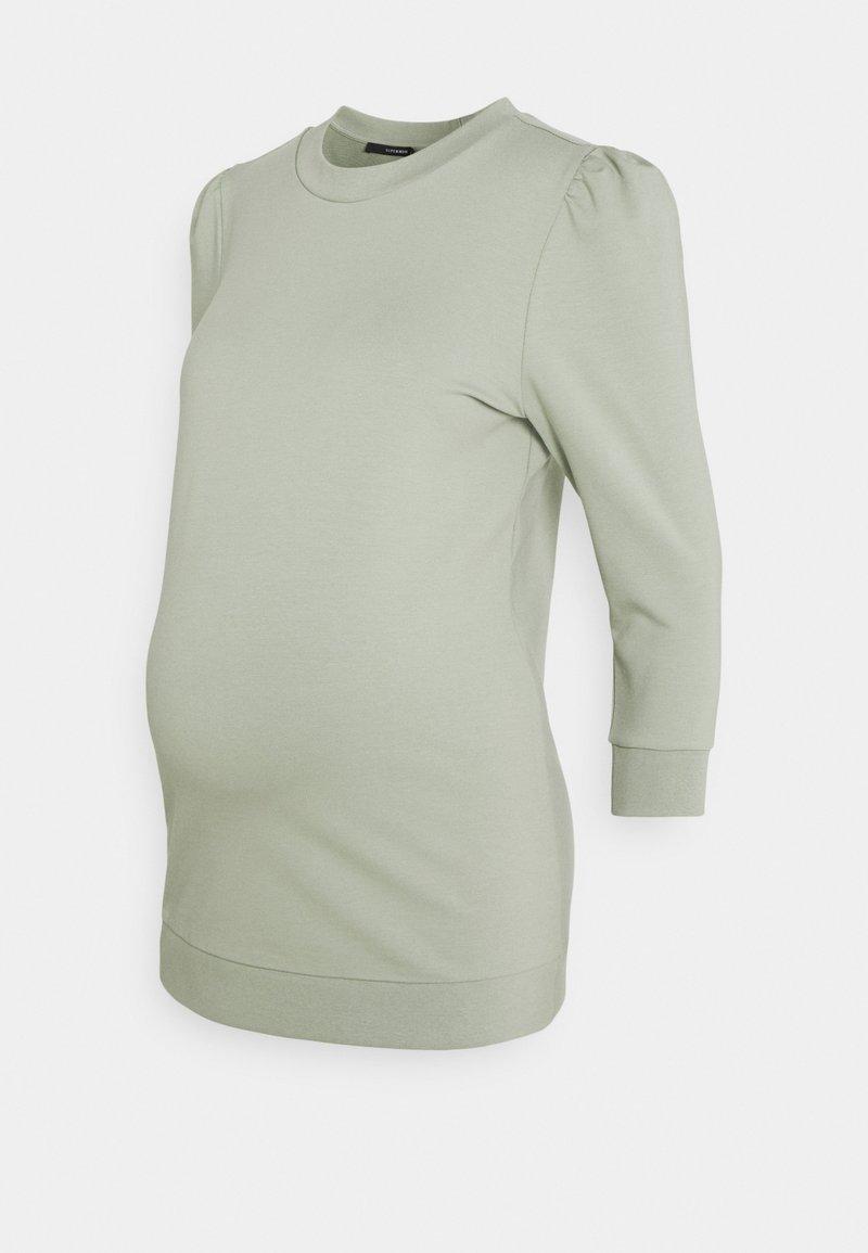 Supermom - SEAGRASS - Sweatshirt - seagrass
