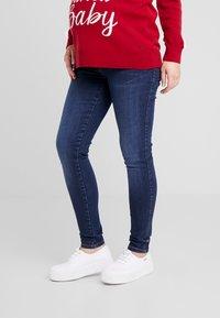 LOVE2WAIT - PANTS SOPHIA - Jeans Skinny Fit - dark wash - 0