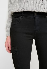 ONLY - Cargo trousers - black - 3