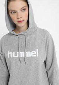 Hummel - Hoodie - grey melange - 4