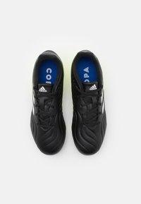 adidas Performance - COPA SENSE.3 FG UNISEX - Moulded stud football boots - core black/footwear white/solar yellow - 3