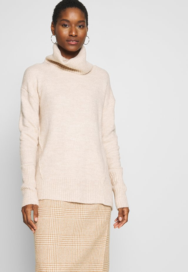 Pullover - light camel heather