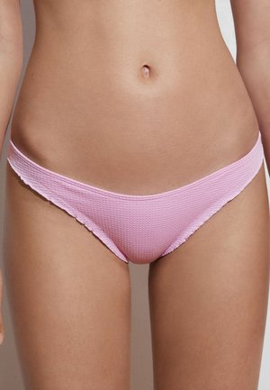 SEAMLESS CURLY CLASSIC  - Bikini bottoms - light pink