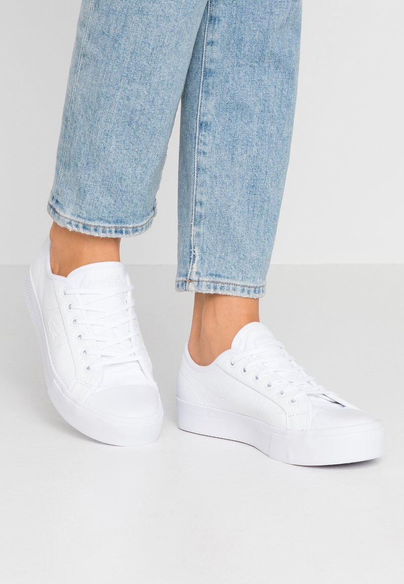 Lacoste - ZIANE PLUS GRAND - Trainers - white