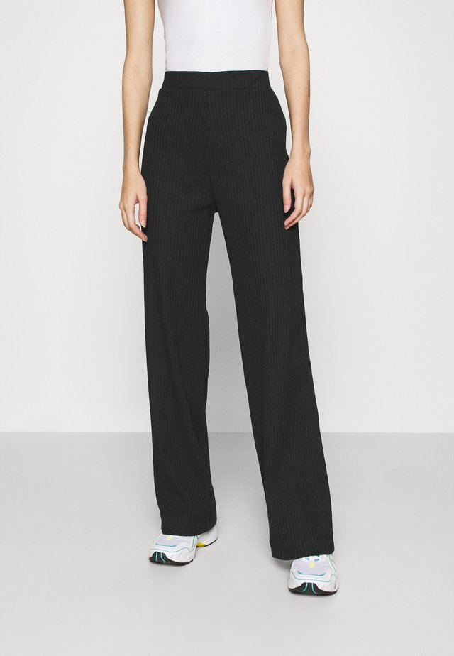 CLARA TOUSERS - Pantalon classique - black
