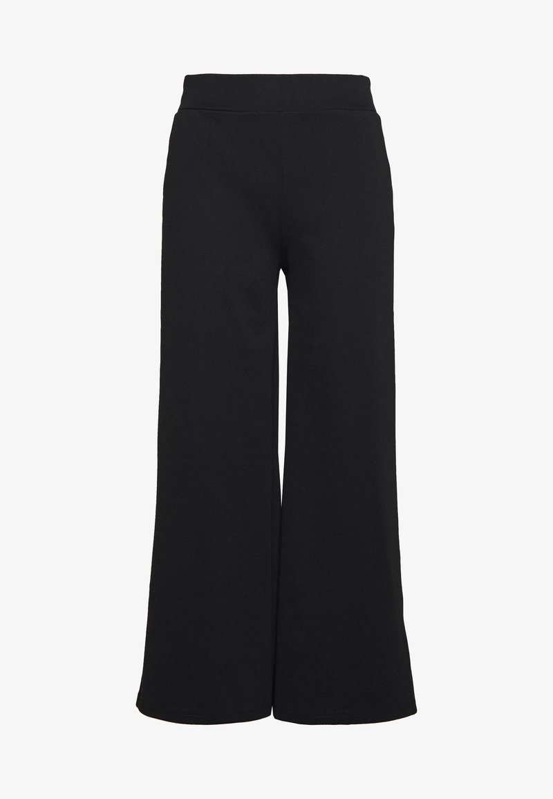ICHI - KATE WIDE - Pantalones - black