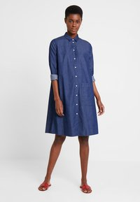 Seidensticker - WASHER - Denim dress - blau - 1