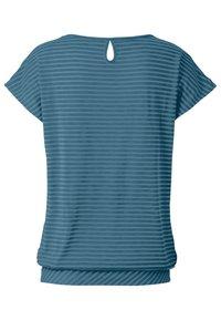 Vaude - SKOMER - Print T-shirt - blue gray - 3